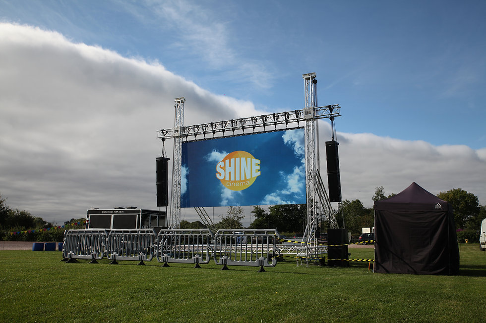 Outdoor Cinema Hire Package