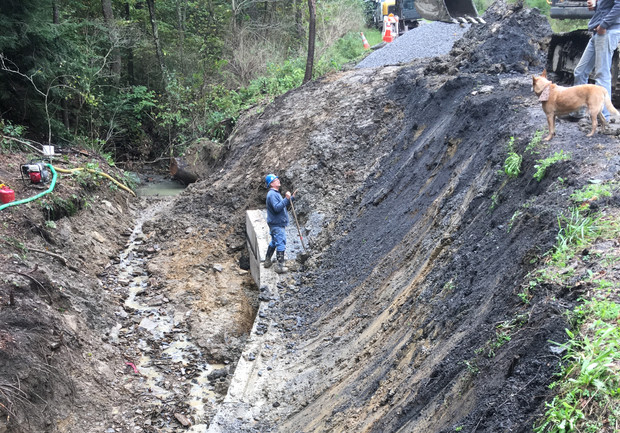 Selfe Road - 2018 Stabilization Project