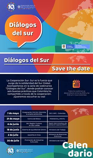 260421 - Save the Date dialogos sur_Mesa