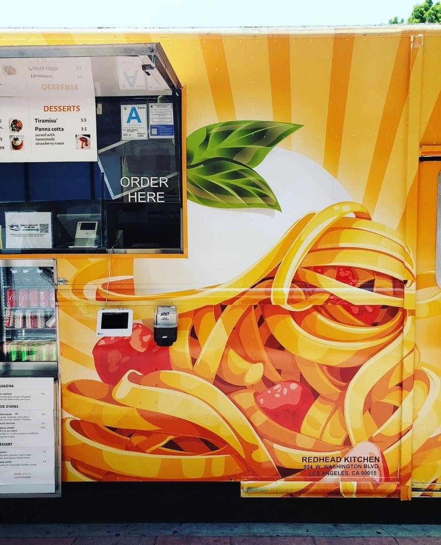 Pasta Sisters food truck