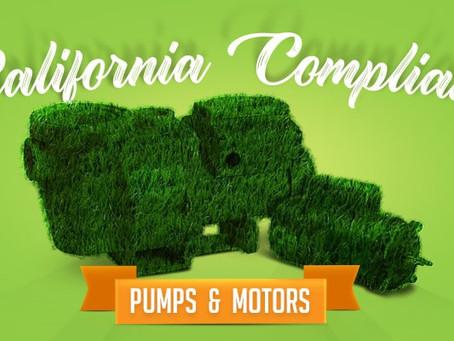 California Title 20 Compliant Pool Pumps & Motors