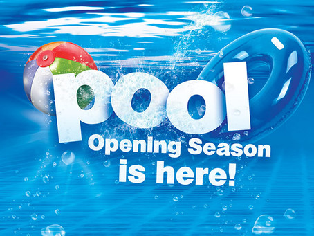 Happy National Pool Opening Day!