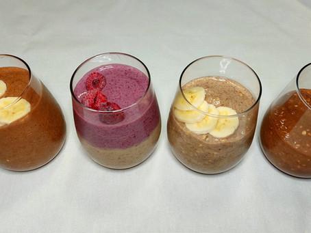 Overnight Buckwheat Pudding, 4 ways! (GF, V, DF)