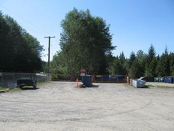 transfer station Fox's Disposal