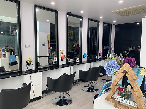 XKR1045 - Hair Salon- New renovation - Undermanagement