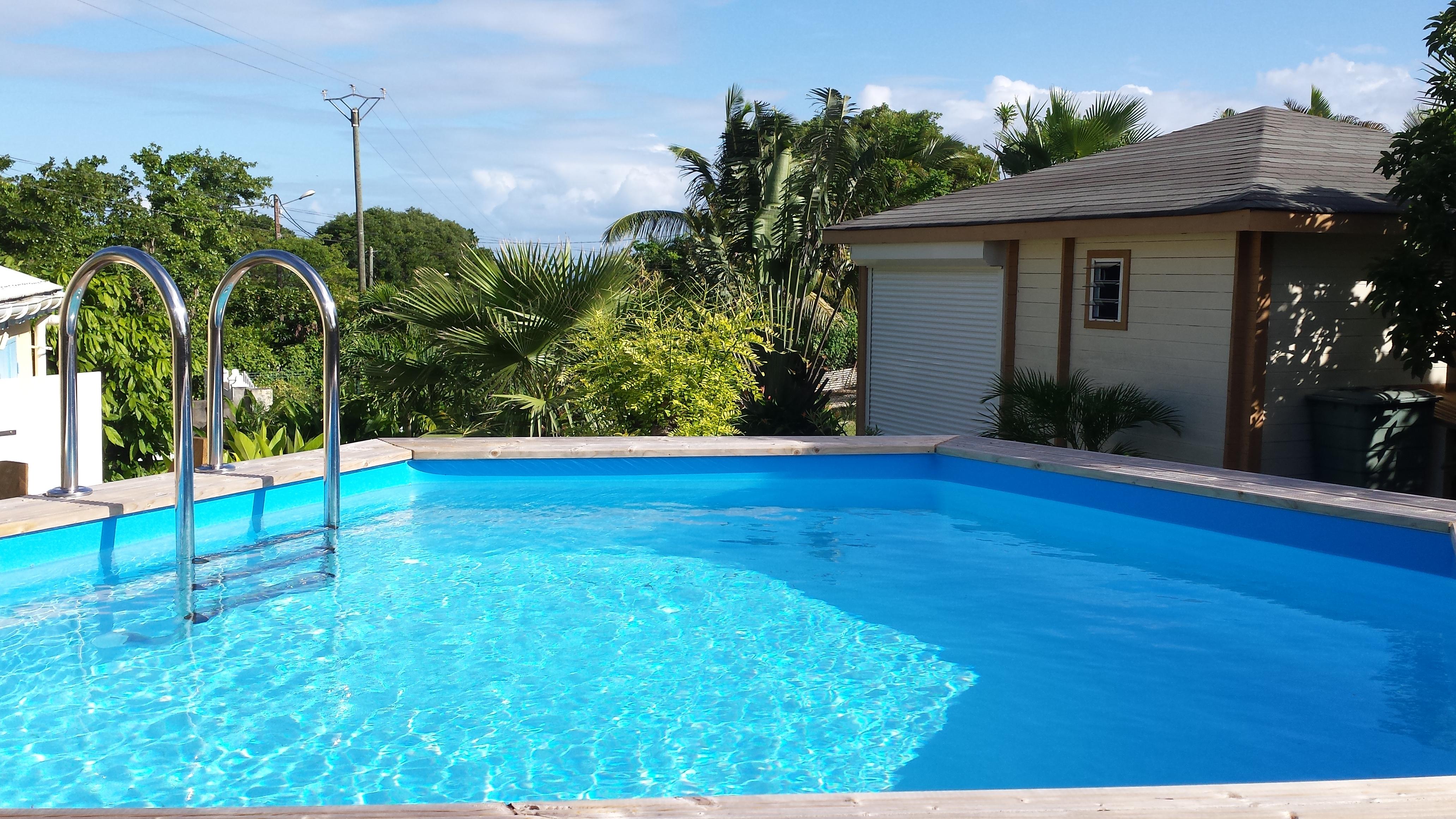 Le bungalow d 39 exception guadeloupe fleur de coco gwada - Bungalow guadeloupe piscine privee ...