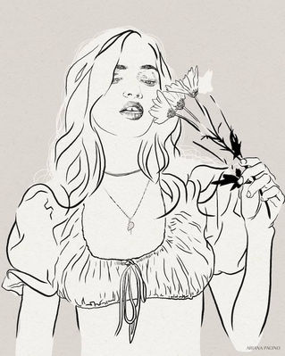 Daisy-Ink-Sketch-Fashion-Illustration-Ar