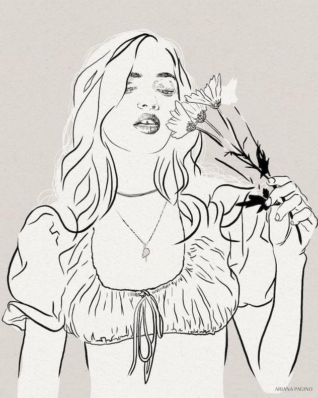 Daisy-Ink-Sketch-Fashion-Illustration-Ar