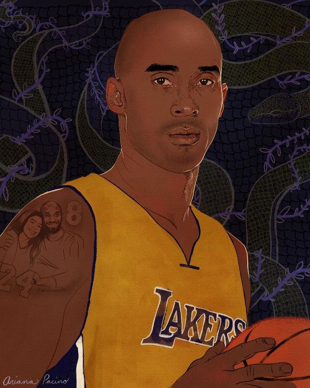 Kobe Bryant Tribute Portrait