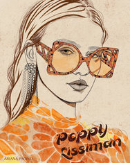 Poppy Lissiman Fashion Illustration