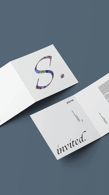 Neiman Marcus Event Invitation Branding