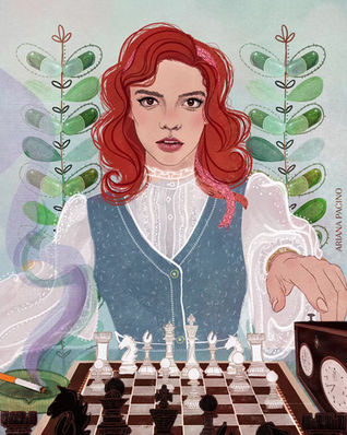 Beth Harmon Chess-Editorial-Illustration