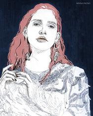 Alexander McQueen Fashion Illustration