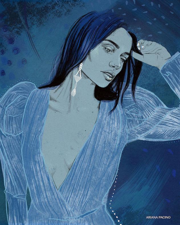 Azure Portrait