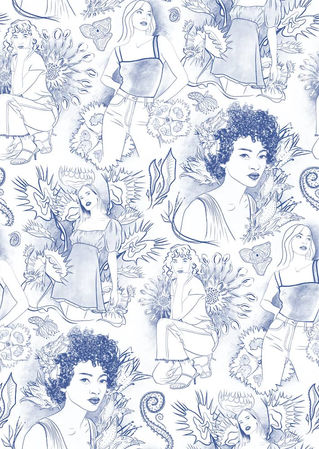 Modern-Toile-Floral-Design-Pattern-Arian