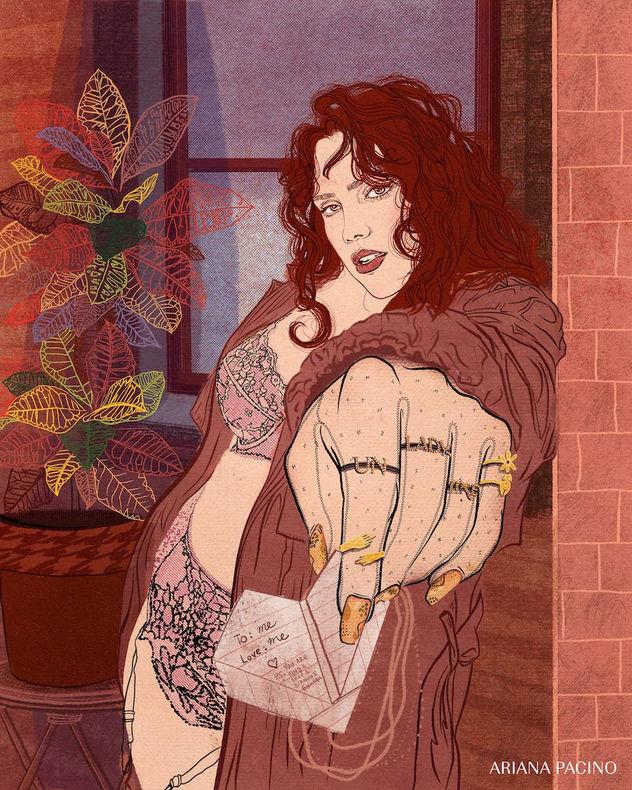 Lynley Love Letters-Fashion-Illustration