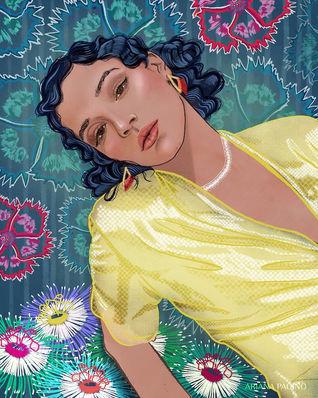 Tashi Rodriguez Fashion Illustration