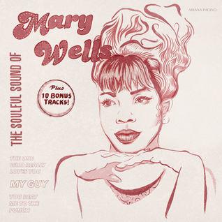 Mary Wells Album Art Design Motown Illus