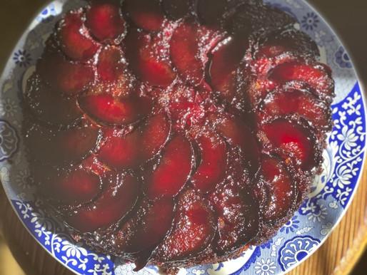 Caramel Upside-down Cake