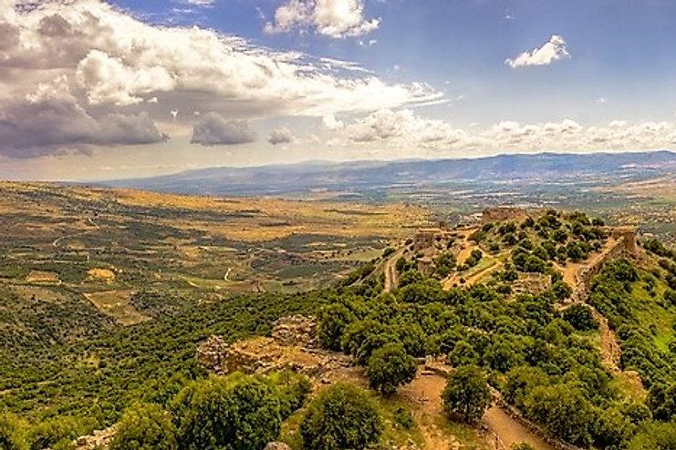 נוף של הר בישראל
