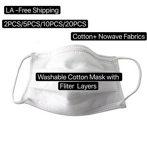 POWECOM Cotton Mask