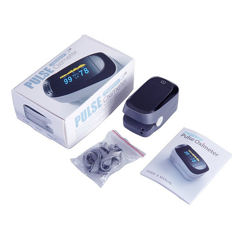 10 PCS Pulse Oximeter-Fingertip Heart Rate monitor Blood Oxygen Sensor Meter