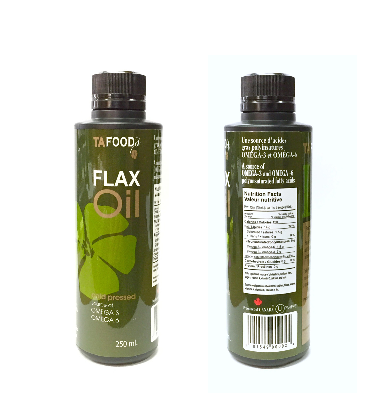 250ml Conventional Oil in plastic bottle