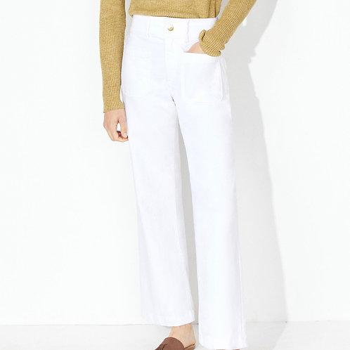 MASSCOB/S21/713K Ribaud trousers white