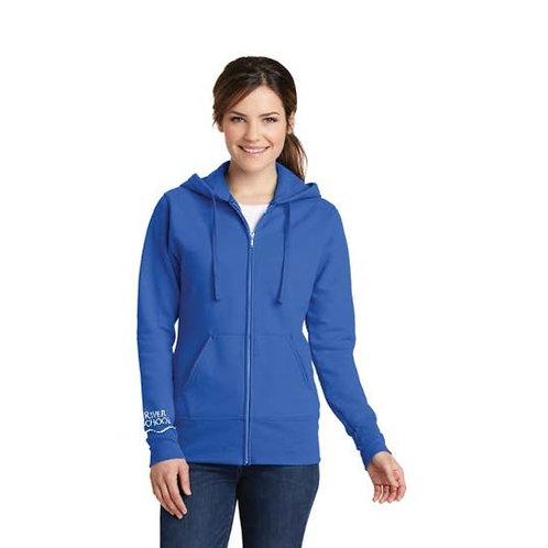Core Fleece Full Zip Hooded Sweatshirt -Female