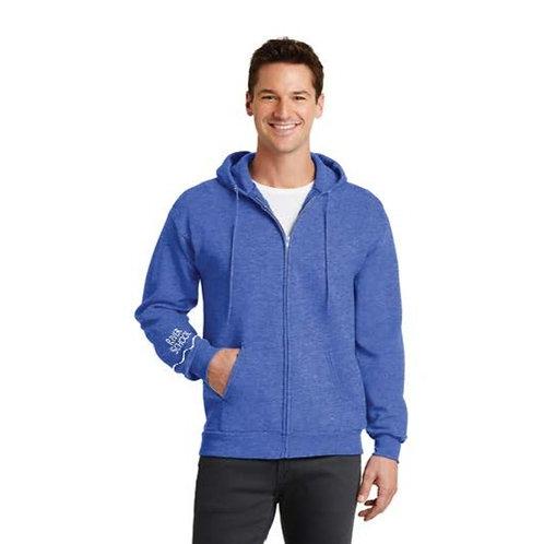 Core Fleece Full Zip Hooded Sweatshirt - Male