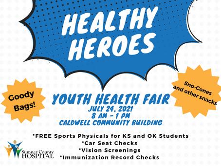 Healthy Heroes! Youth Health Fair