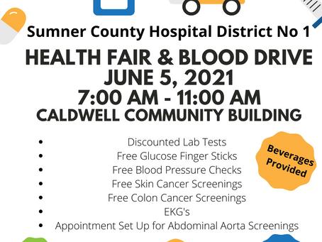 Community Health Fair and Blood Drive