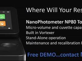 FREE Trial Implen nanophotometer: NP80 Nanovolume + Cuvette