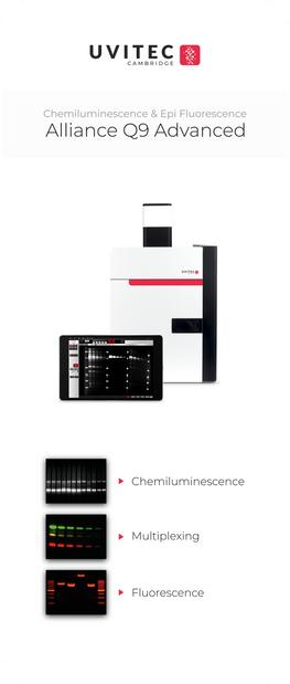 NEW!!!  UVITEC showcase Chemi imaging system