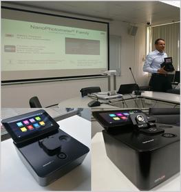 ภาพบรรยากาศงาน Implen Nanophotometer Seminar