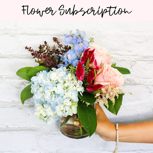 Monthy Flower Subscription