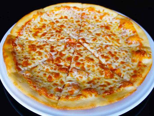 """Пицца """"Сырная"""" на тонком тесте"""