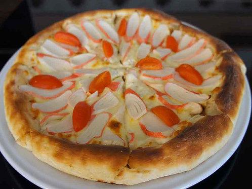"""Пицца """"Крабовые палочки"""" на традиционном тесте"""