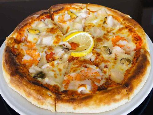 """Пицца """"Королева моря"""" на традиционном тесте"""