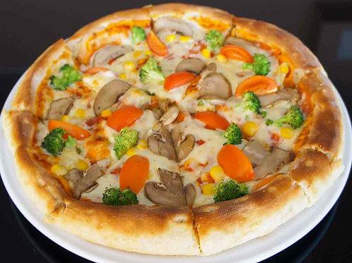 """Пицца """"Вегетарианская"""" на традиционном тесте"""