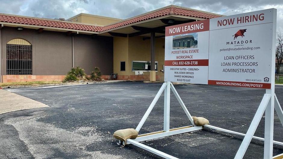 Matador Lending Announces Expansion Into Poteet,TX After Acquiring The Old Wells Fargo Building