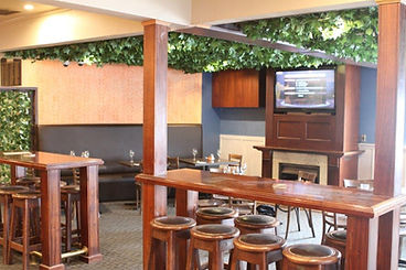 Bar with live sports, TAB and gaming room.