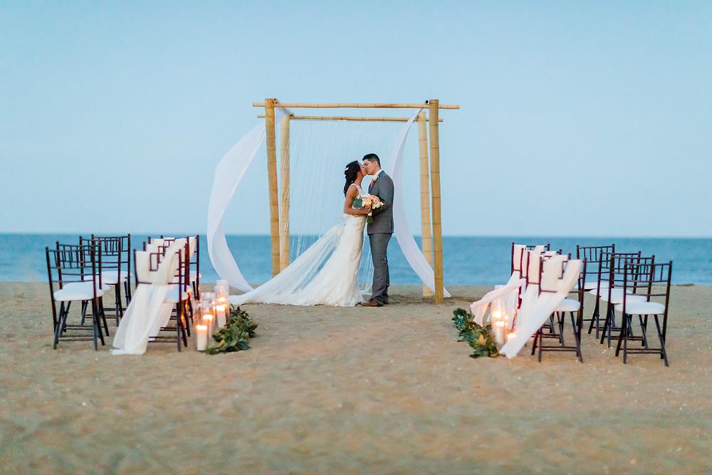 A beautiful Virginia Beach Wedding