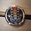 Thumbnail: Hand With Chakra Crystals Car Diffuser