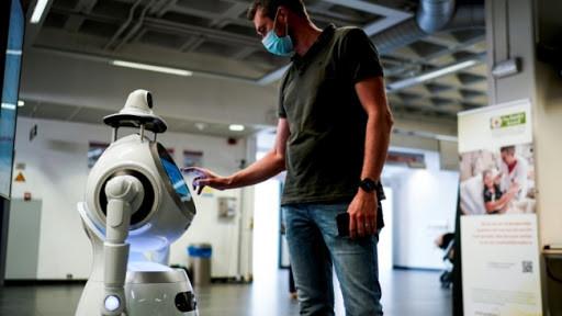 Le nouveau robot Anti-Epidemie