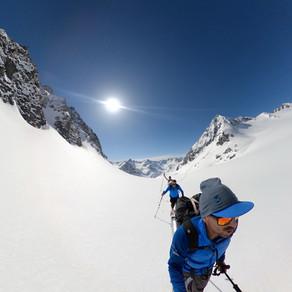 Stubaier Rundtour Hinterer Daunkopf 3225 m - Schwarzenberg-joch 3106 m