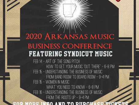 2020 Arkansas Music Business Conference