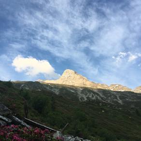 Fußstein 3380m Hüttengrat geniale Kletterei in fantastischer Umgebung!