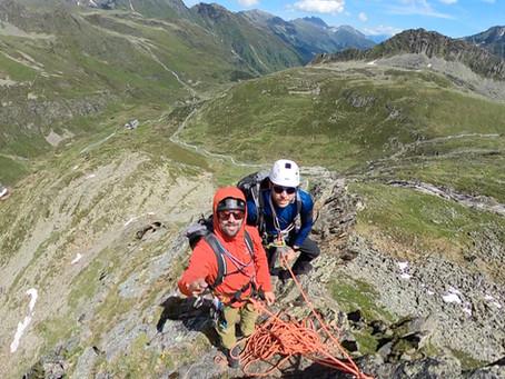 Coaching Alpin Klettern im Stubaital