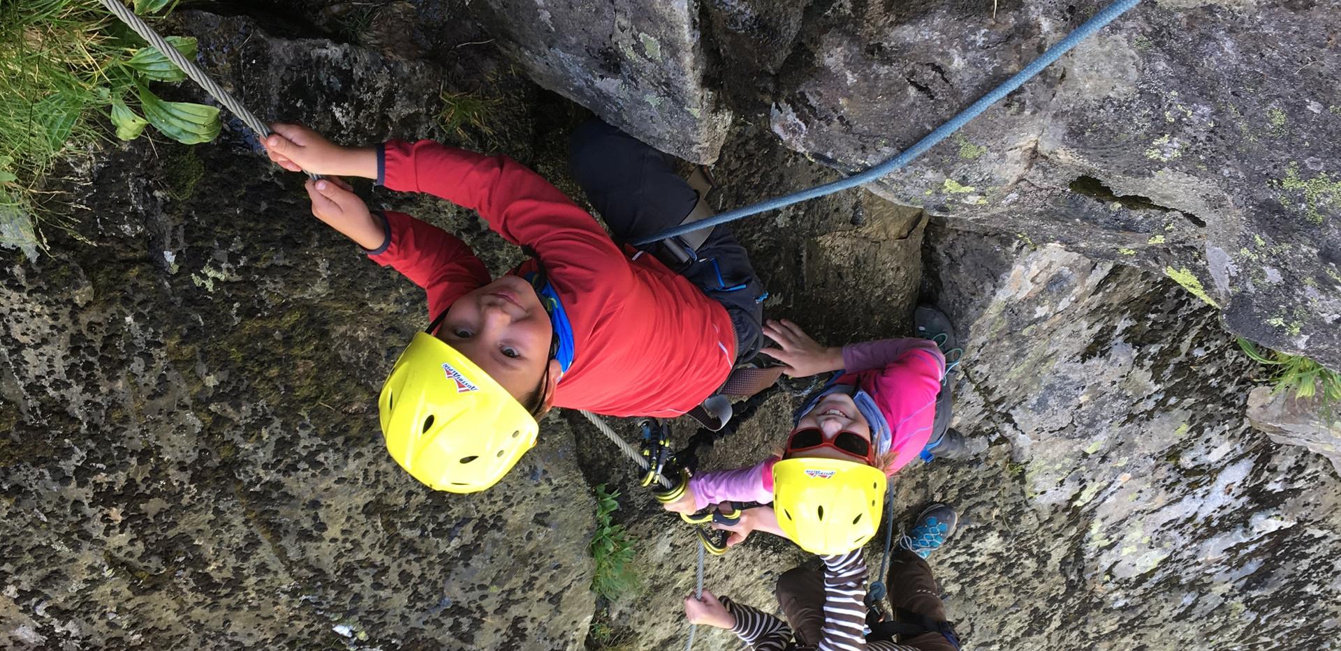 Fernau Klettersteig mit Kindern.JPG